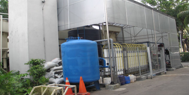 Wisma Nusantara upgraded the Water Recycle Plant
